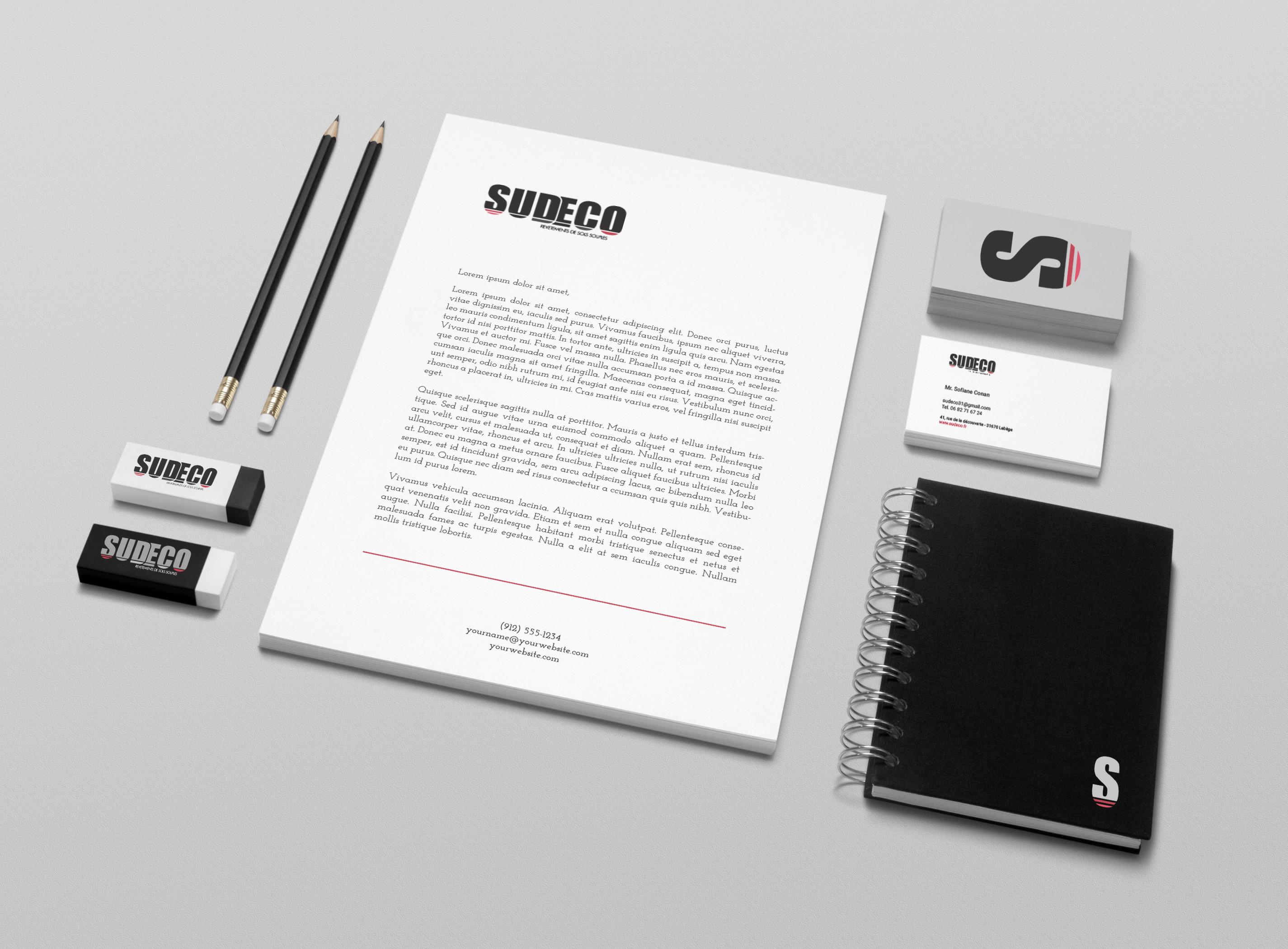 Sudeco - Création d'un logo
