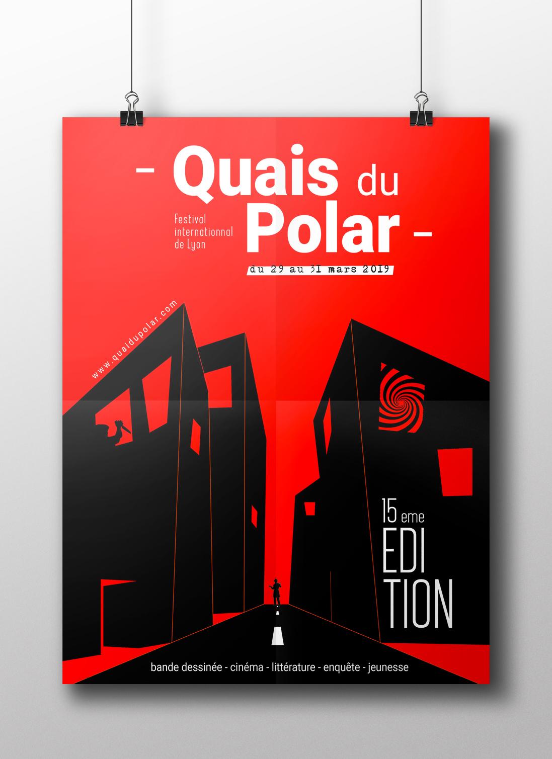 Quai du Polar - Affiche et site
